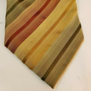 Kenneth Cole Striped Neck Tie